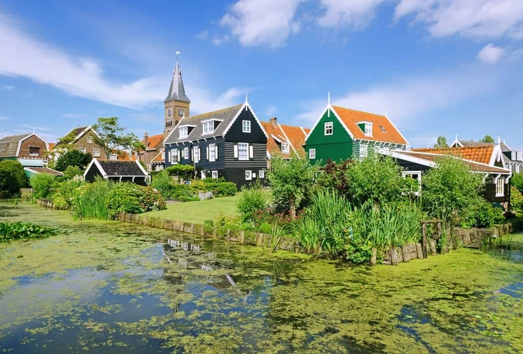 Marken - most beautiful villages in the Netherlands