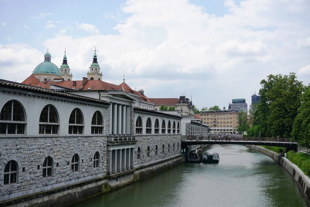 The building of the Central Market -What tο do in Ljubljana
