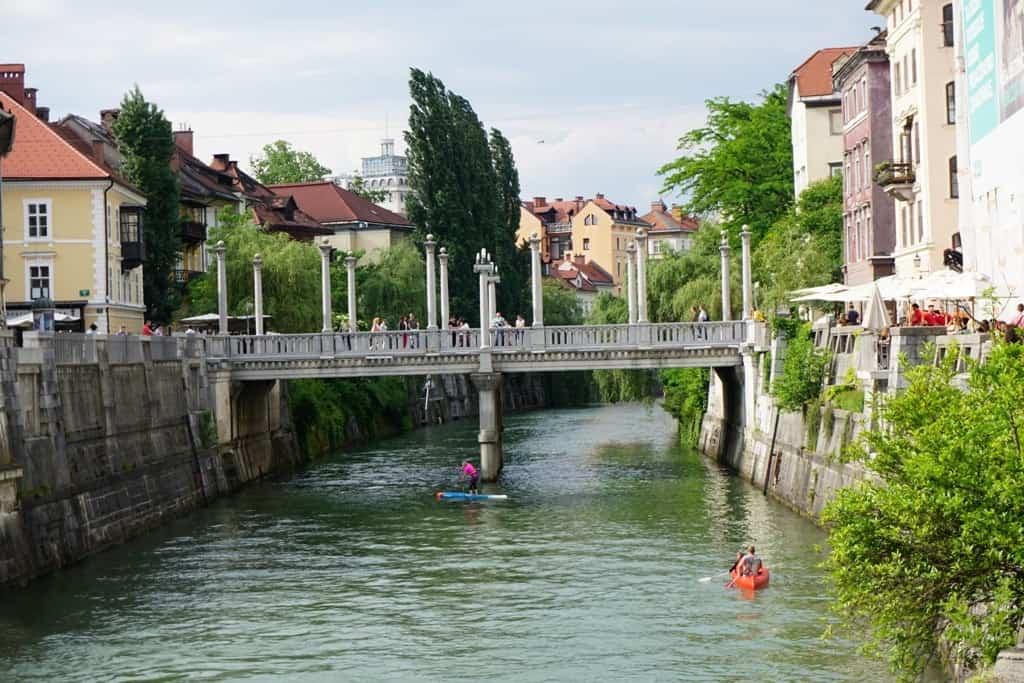 Cobblers' Bridge - What tο do in Ljubljana