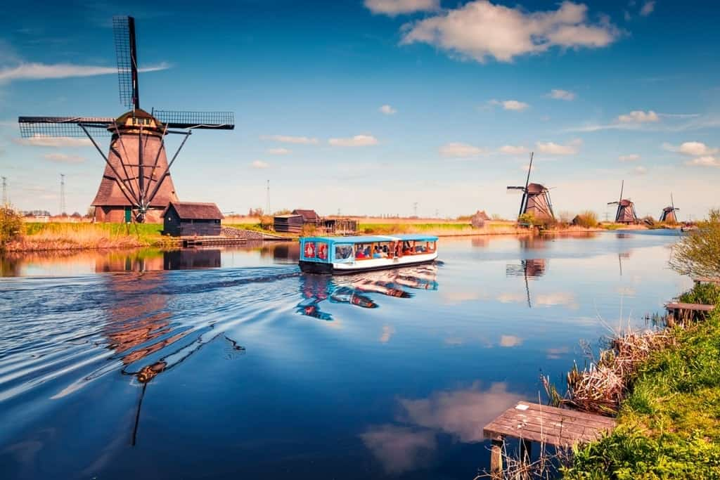 Most beautiful villages in the Netherlands - Kinderdijk