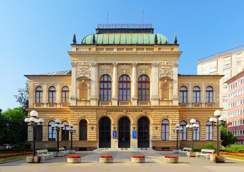 National Gallery of Slovenia -Things to do in Ljubljana