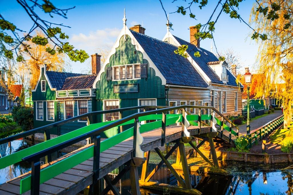 Most beautiful villages in the Netherlands -Zaandam