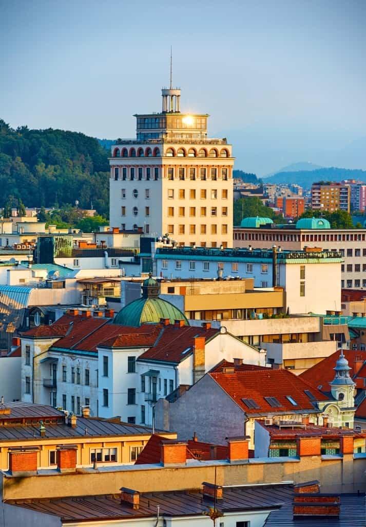 skyscraper-in-Ljubljana -Things to do in Ljubljana