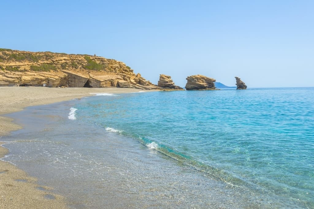 Triopetra beach, Best beaches in Crete