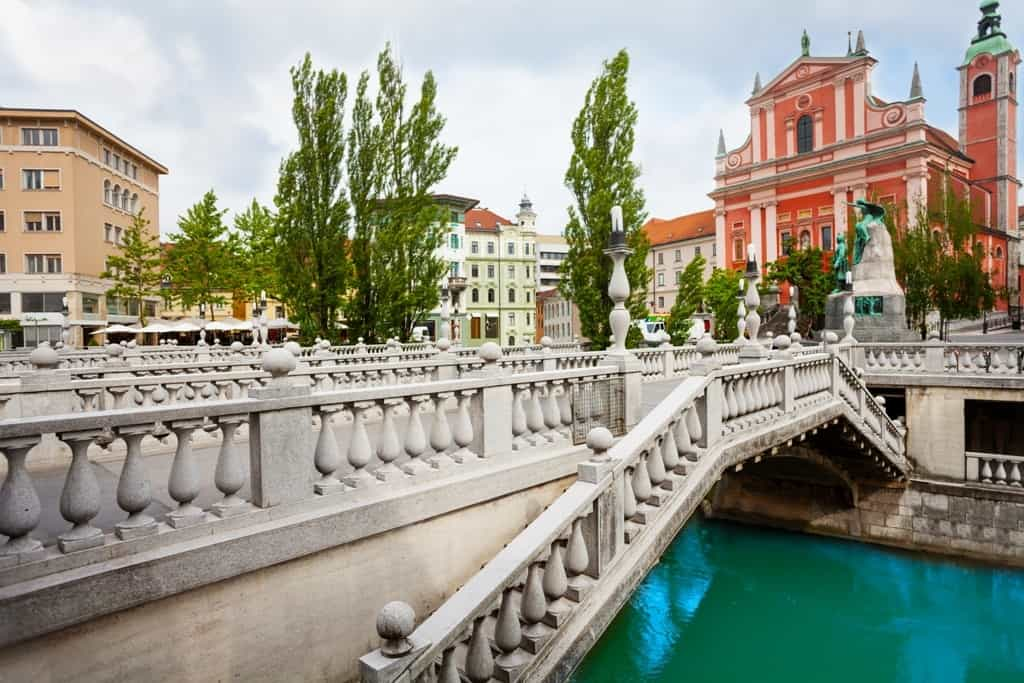 Triple Bridge -Things to do in Ljubljana