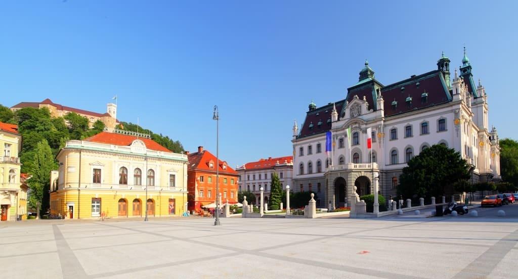 University of Ljubljana - Slovenia congress square -Things to do in Ljubljana
