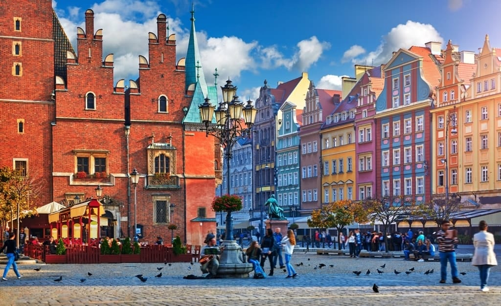 Wroclaw -best cities to visit in Eastern Europe