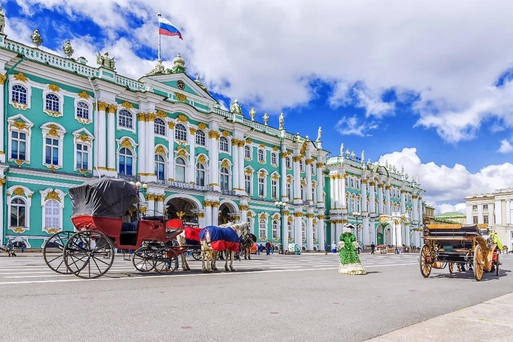 St. Petersburg -best cities to visit in Eastern Europe