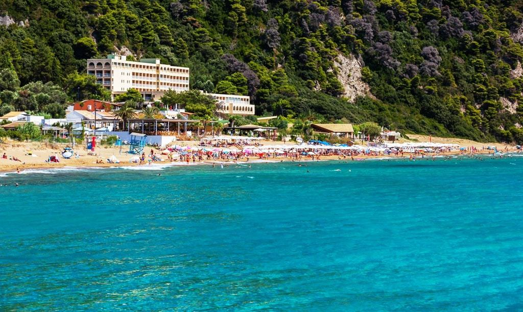 Things to do in Corfu - Glyfada beach