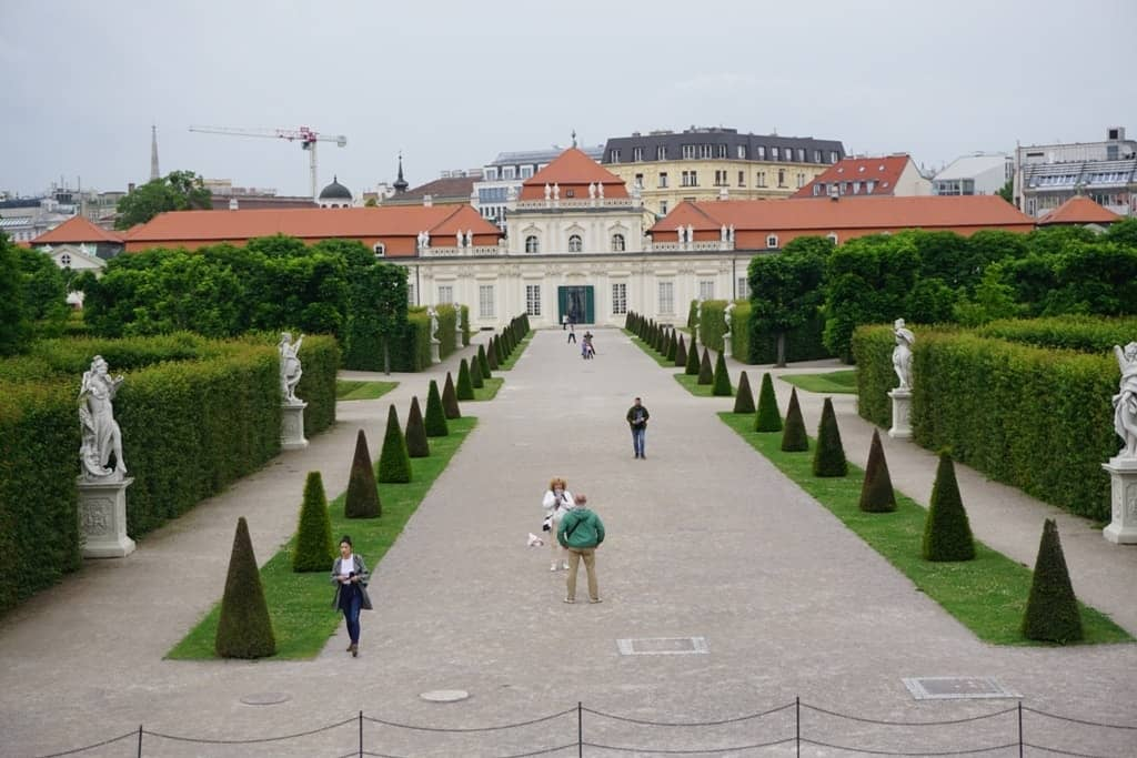 Lower Belvedere - 3 days in Vienna