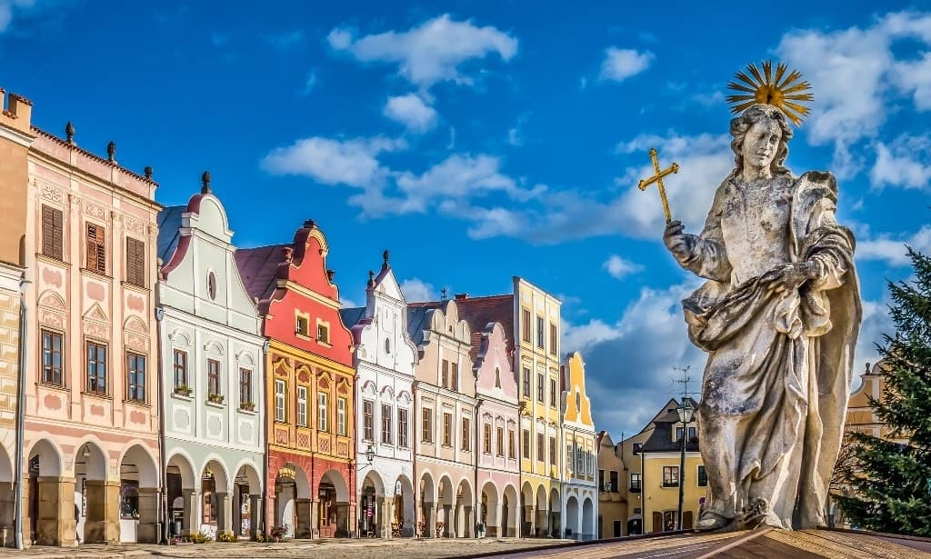 Telc -Best places to visit in The Czech Republic