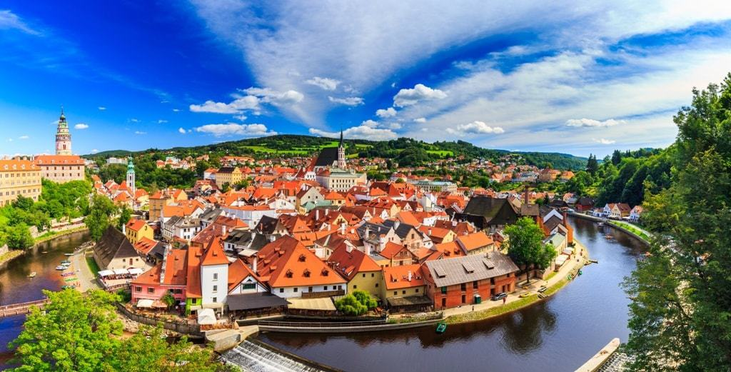 Cesky Krumlov - Best places to visit in The Czech Republic