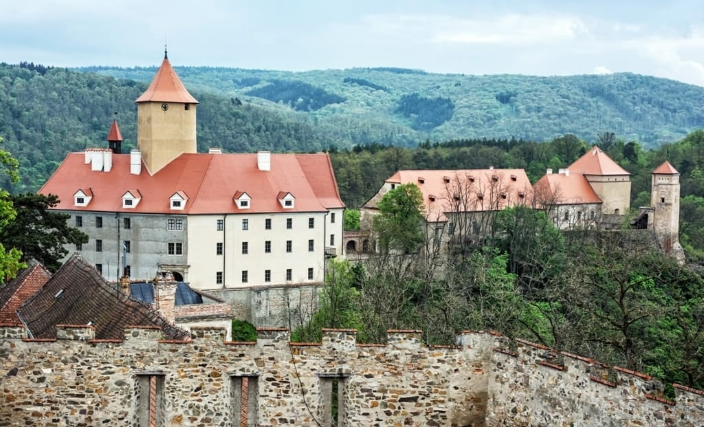 Veveri castle - Best places to visit in The Czech Republic