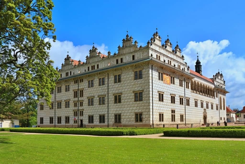castle Litomysl -Best places to visit in The Czech Republic