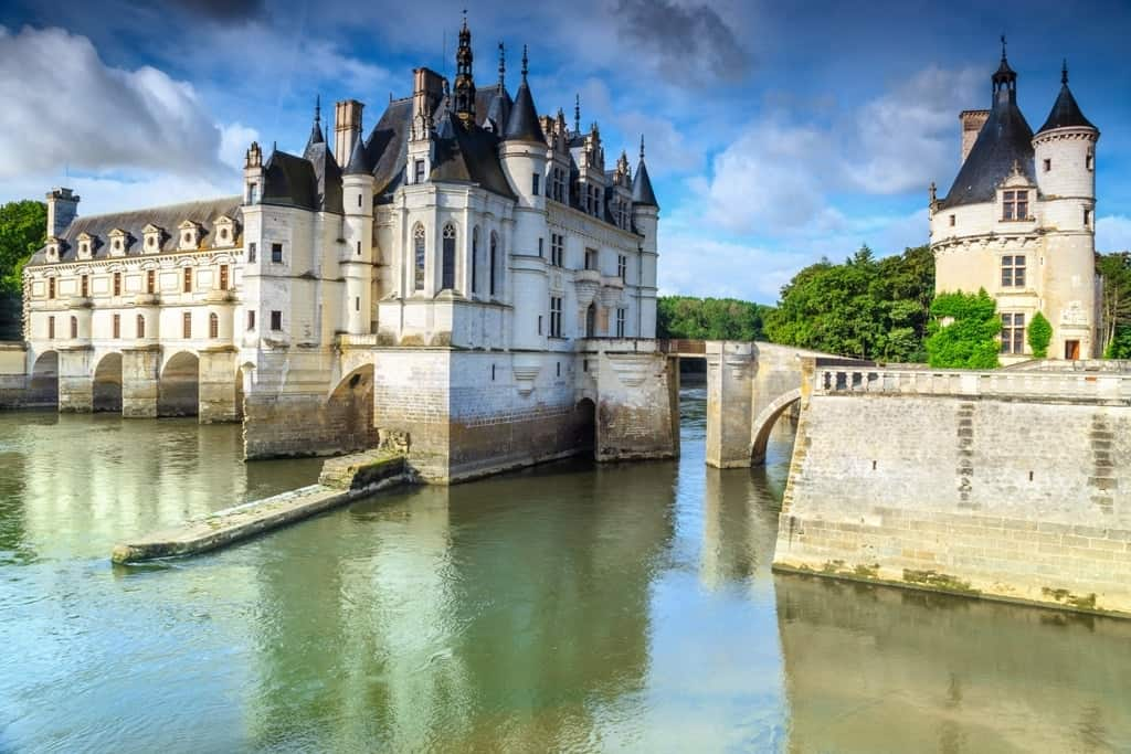 Chateau de Chenonceau - beautiful french castle