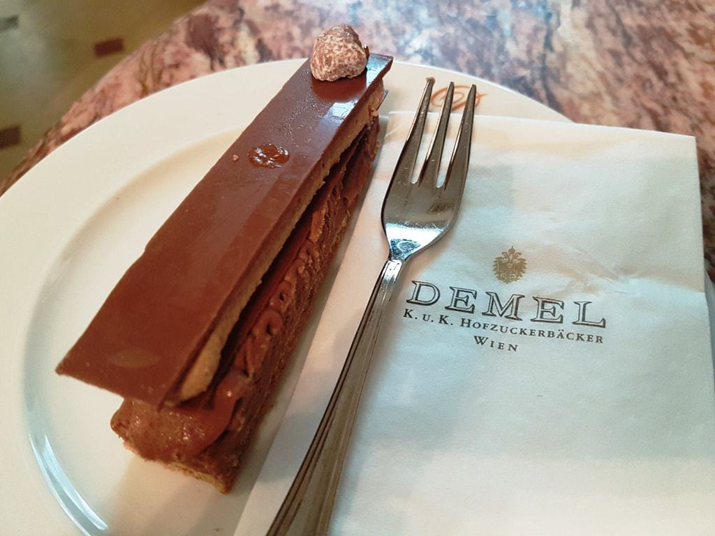 3 days in Vienna - Café Demel