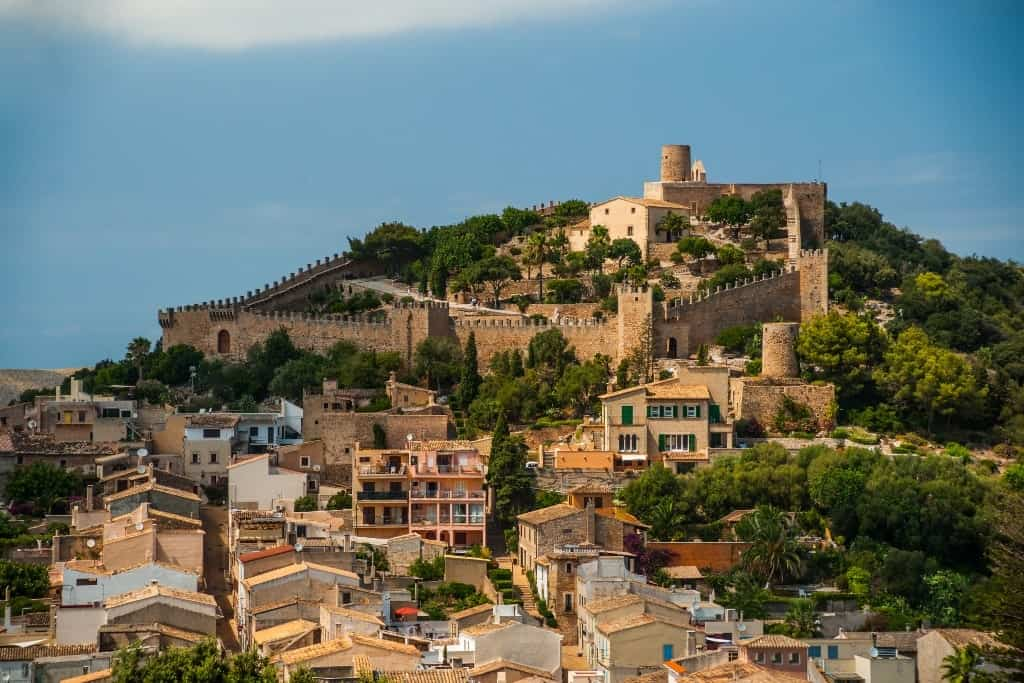 Castle of Capdepera - what to do in Majorca