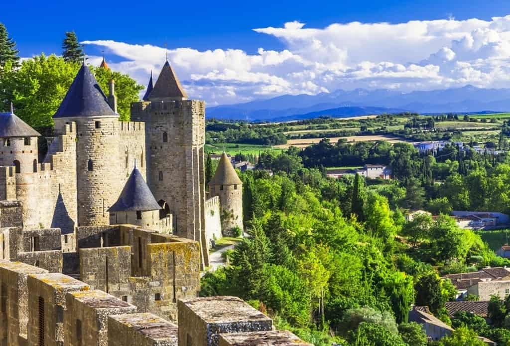 Carcassonne - beautiful french castles