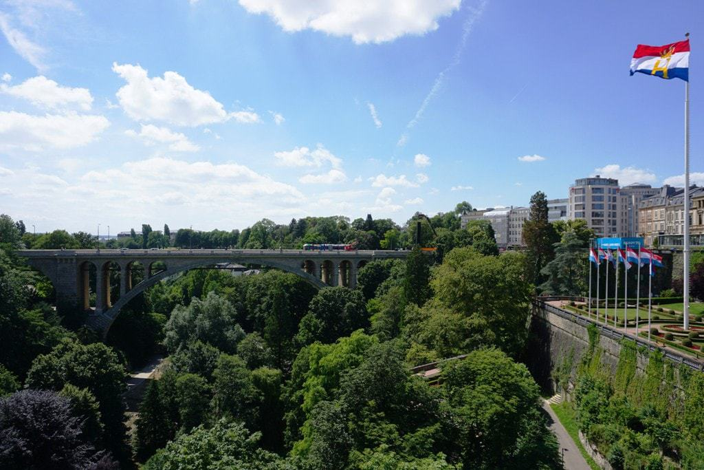 Adolphe Bridge - things to do in Luxembourg city
