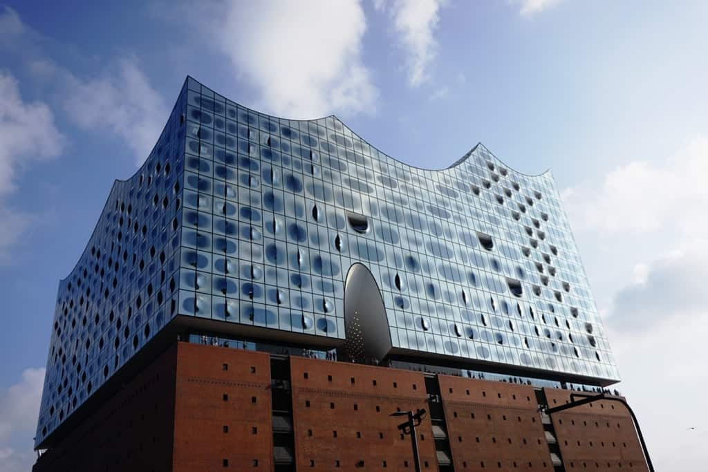 a weekend in Hamburg things to do -Elbphilharmonie