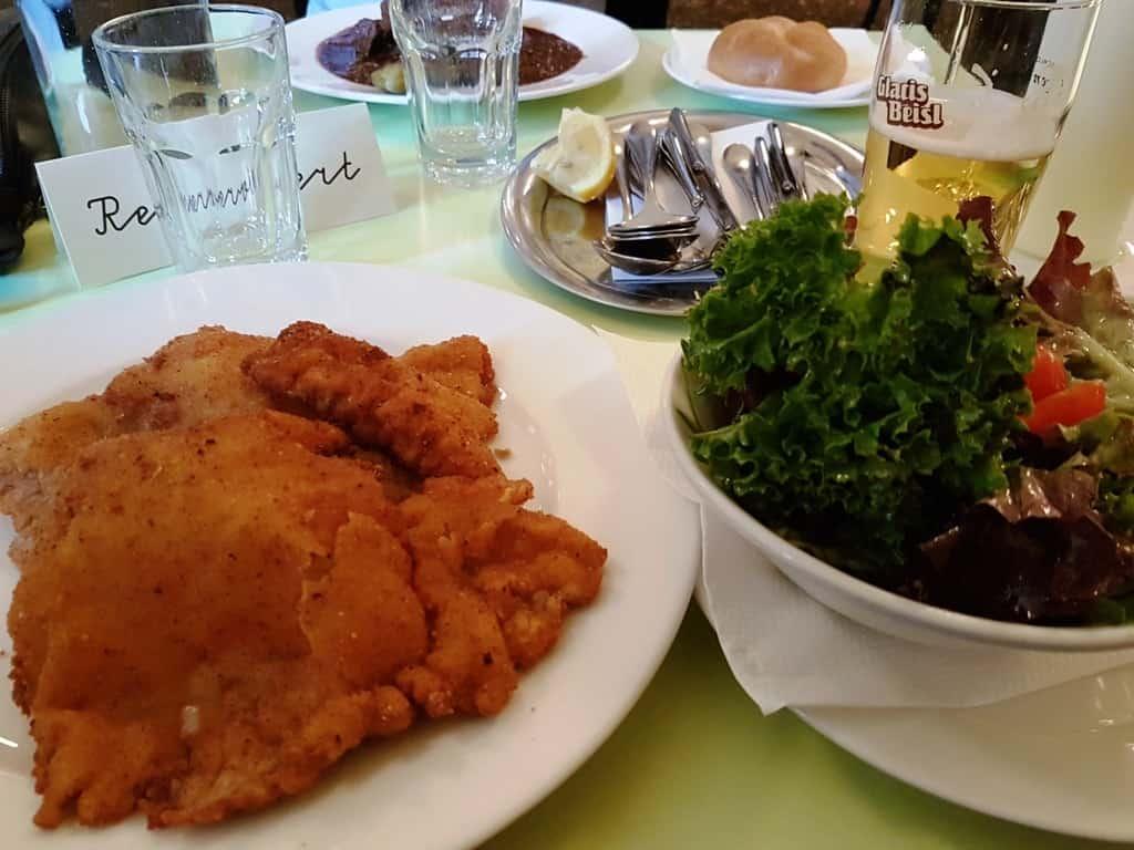 Glacis Beisl restaurant Vienna