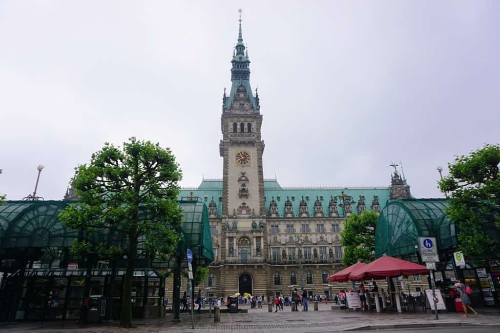 a weekend in Hamburg things to do - Hamburg Rathaus