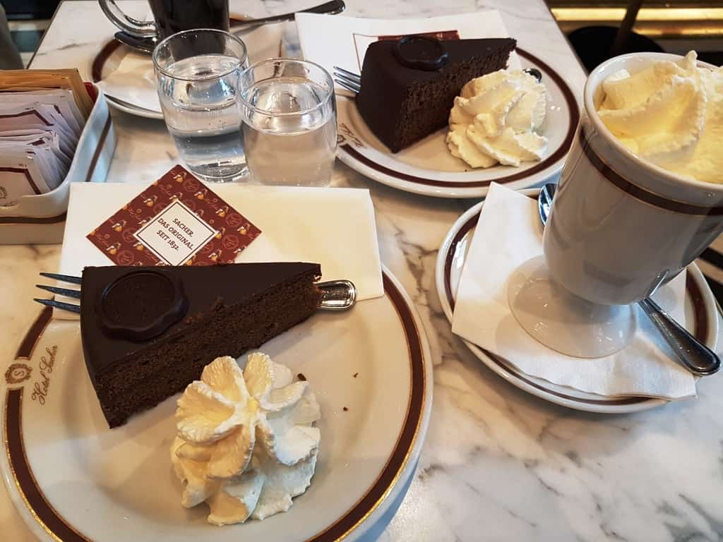 Sacher Hotel for Sacher Torte - 3 day Vienna itinerary