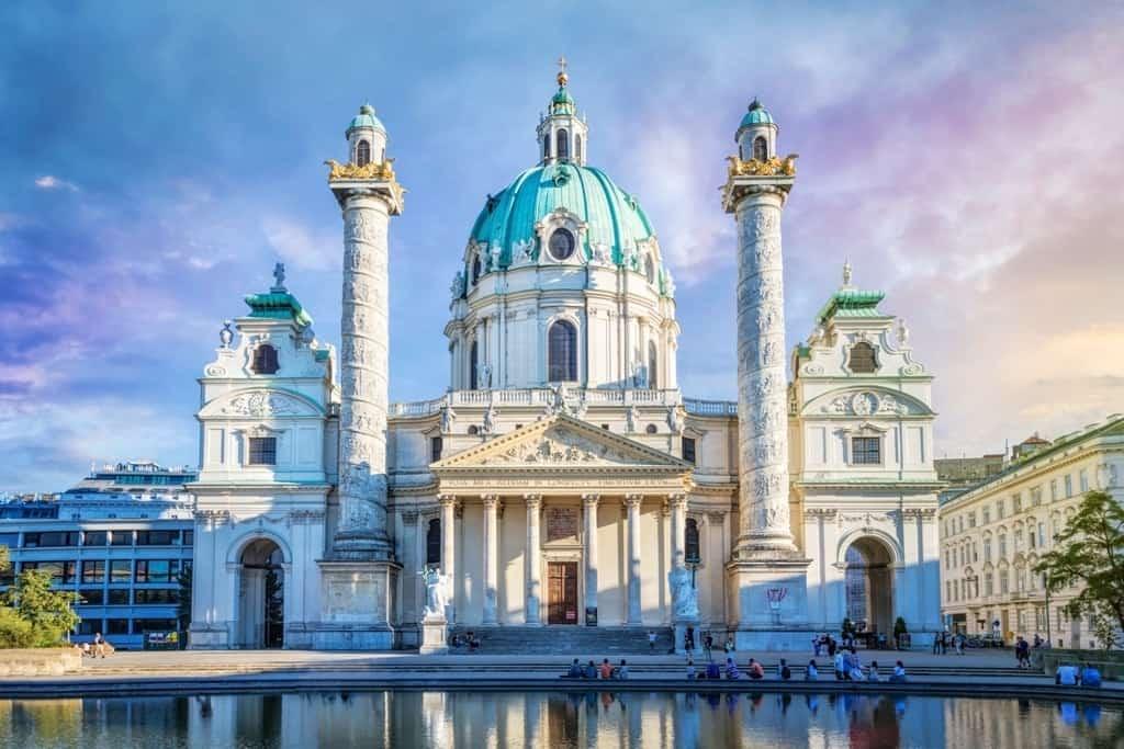 Karlskirche - 3 day Vienna itinerary