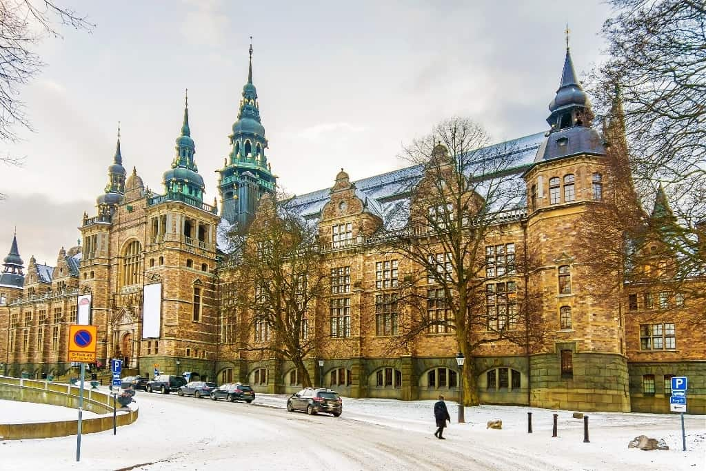 The Northern Museum in Stockholm - Stockholm in winter