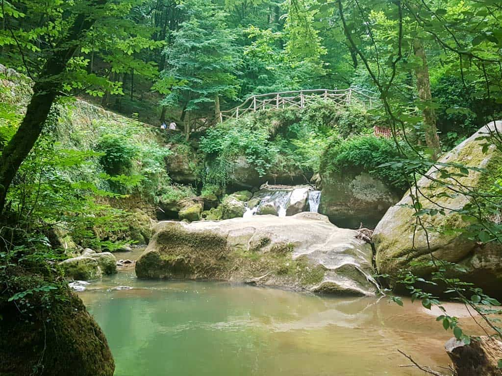 Places to visit in Luxembourg -The Schiessentümpel waterfall
