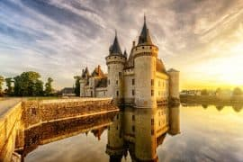 Chateau de Sully Sur Loire - the best french castles
