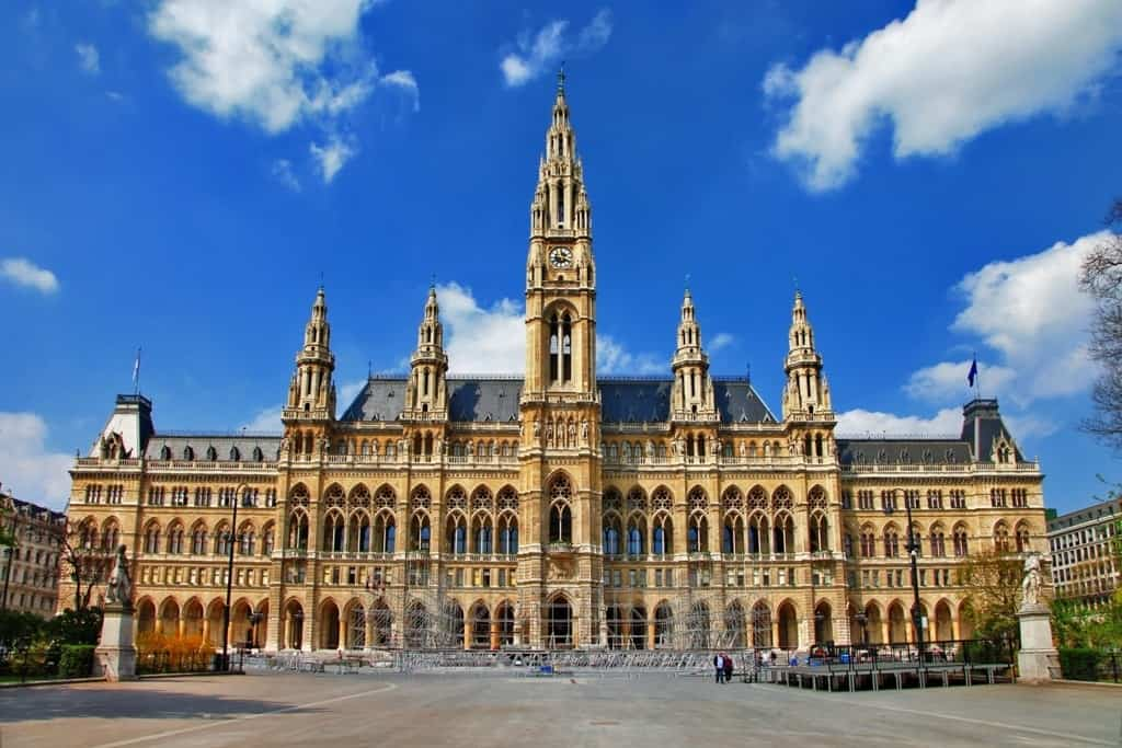 Rathaus - Vienna City Hall - Things to see in Vienna in 3 days