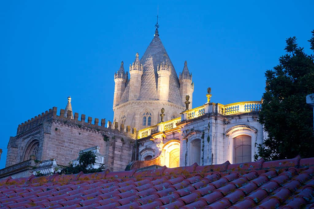 Sé, or Cathedral of Evora - things to do in Evora on a day trip from Lisbon