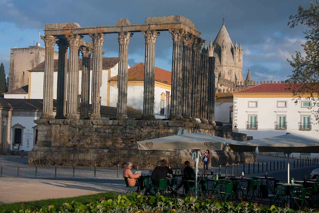 Roman Temple of Diana - things to do in Evora on a day trip from Athens