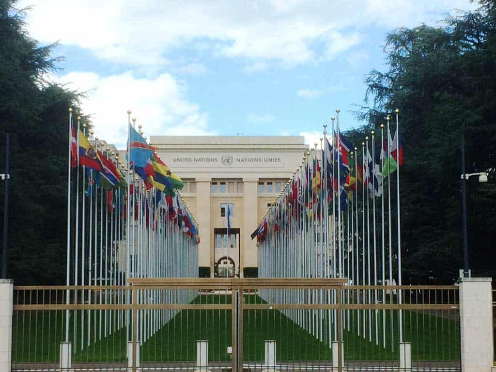 United Nations. one day in Geneva