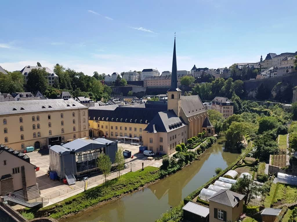 Things to do in Luxembourg City view from the Walls of the Corniche