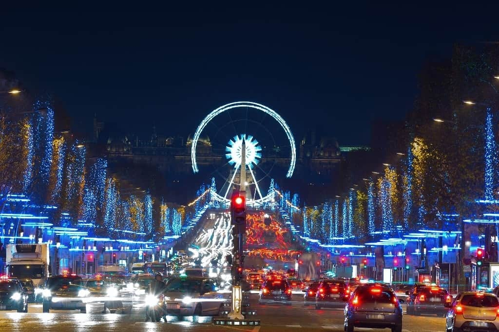 Best places to spend Christmas in Europe - Paris
