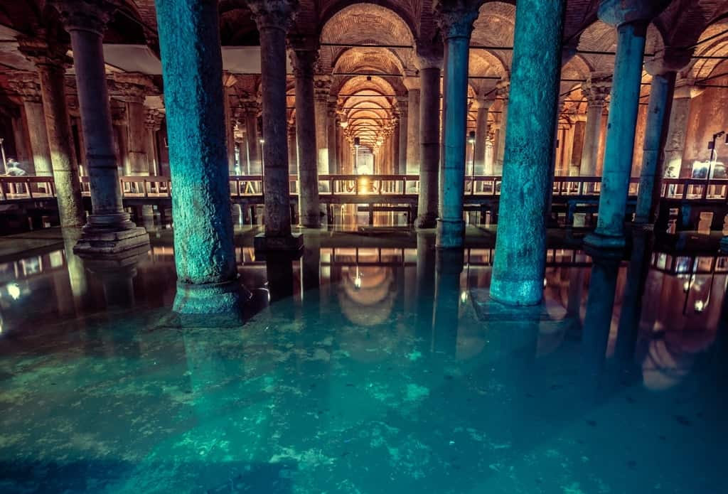 Basilica Cistern - three days in Istanbul things to see