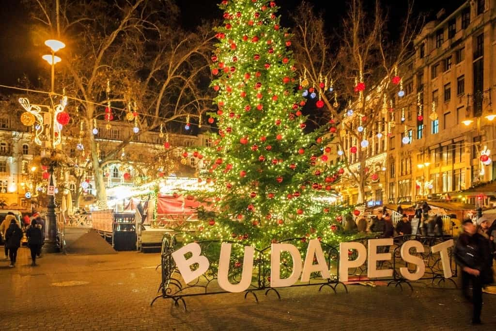 The best city to spend Christmas in Europe - Budapest
