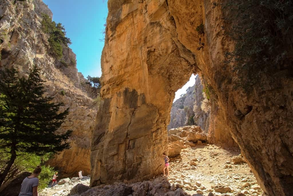 The Imbros Gorge - top things to do in Crete