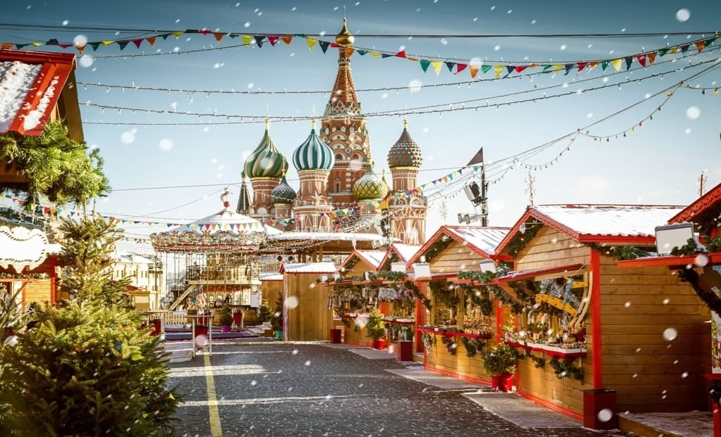 The best city to spend Christmas in Europe - Moscow