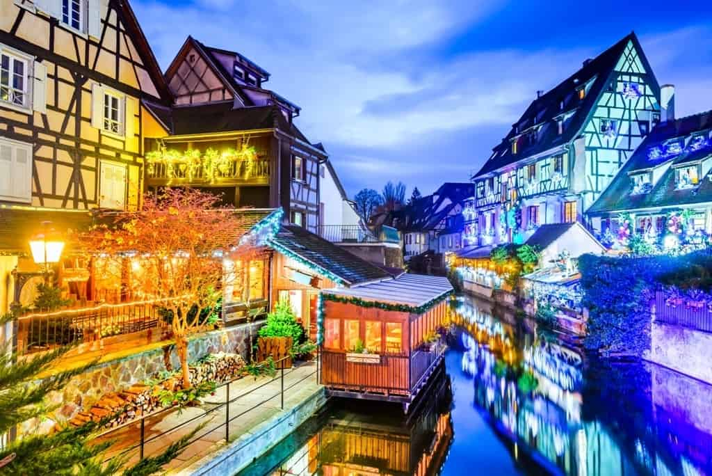 The best Christmas Markets in France - the christmas market in Colmar