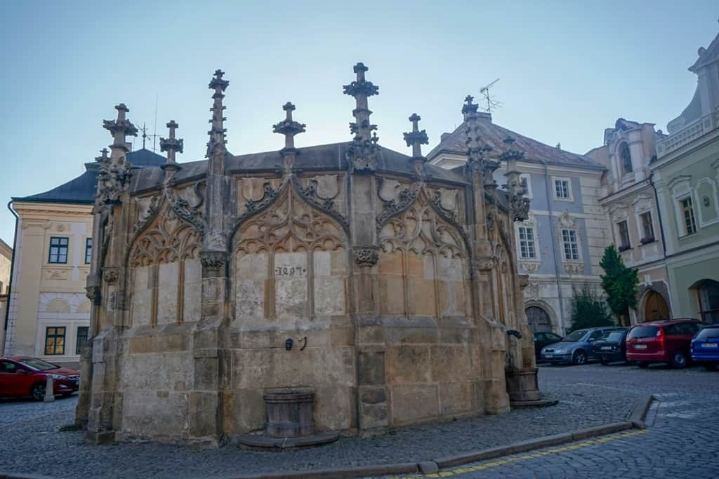Gothic Stone Fountain - things to do in Kutna Hora