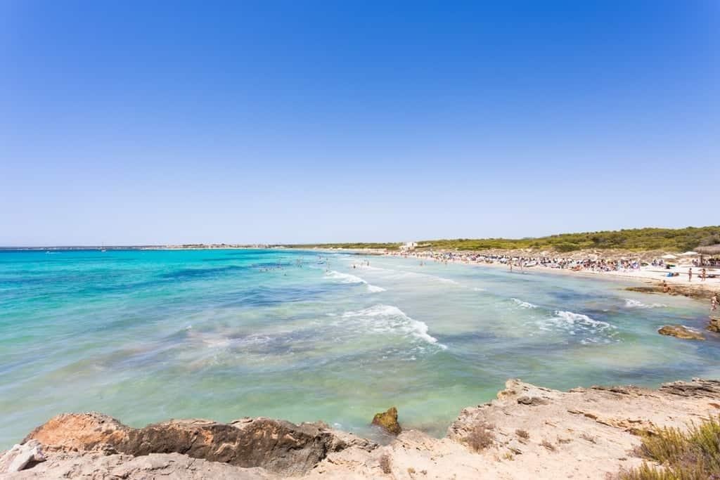Es Trenc - beautiful beaches in Majorca