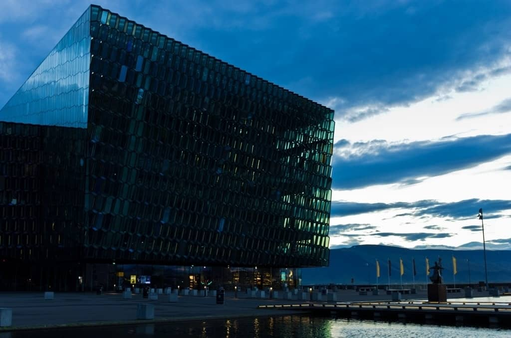Harpa concert hall - 3 days in Reykjavik itinerary