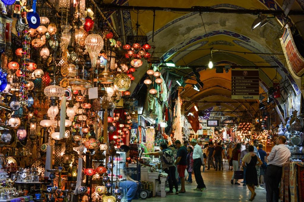 Grand Bazaar in Istanbul - things to see in 3 days