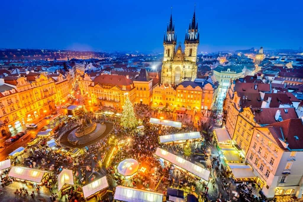 Best places to spend Christmas in Europe- Prague