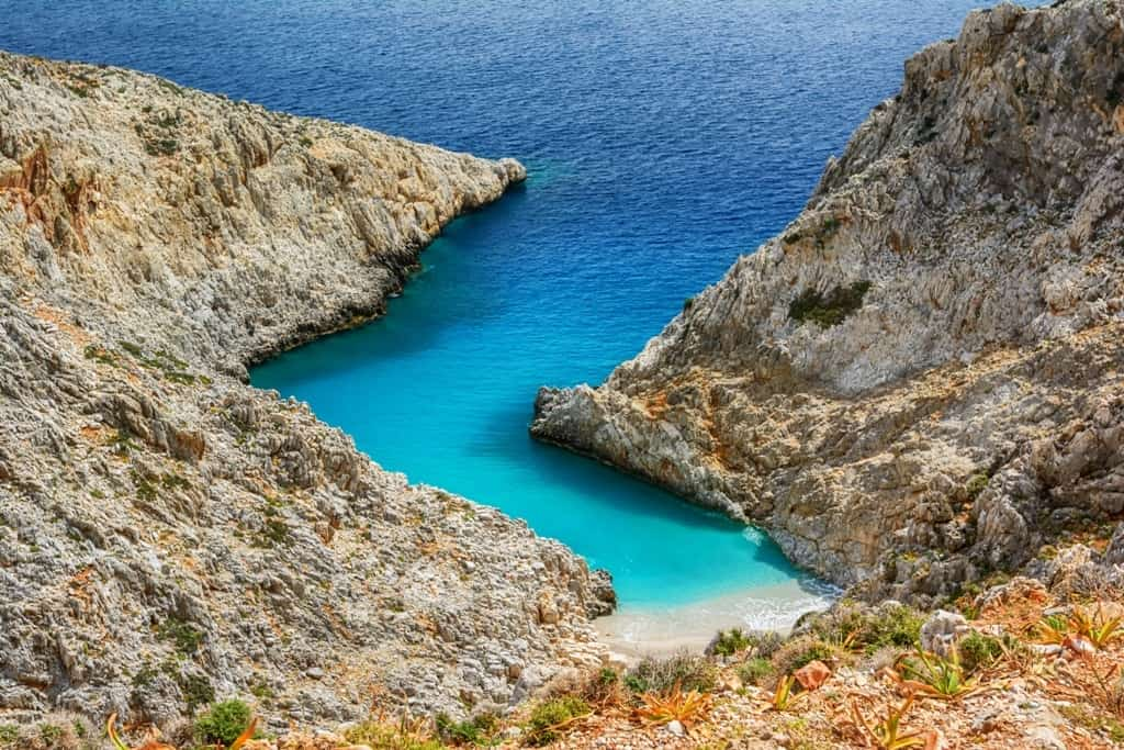 Seitan limania or Stefanou beach - things to do in crete