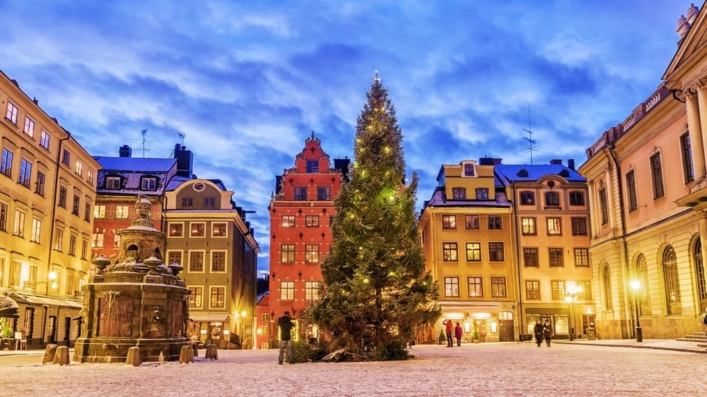 Best places to spend Christmas in Europe - Stockholm