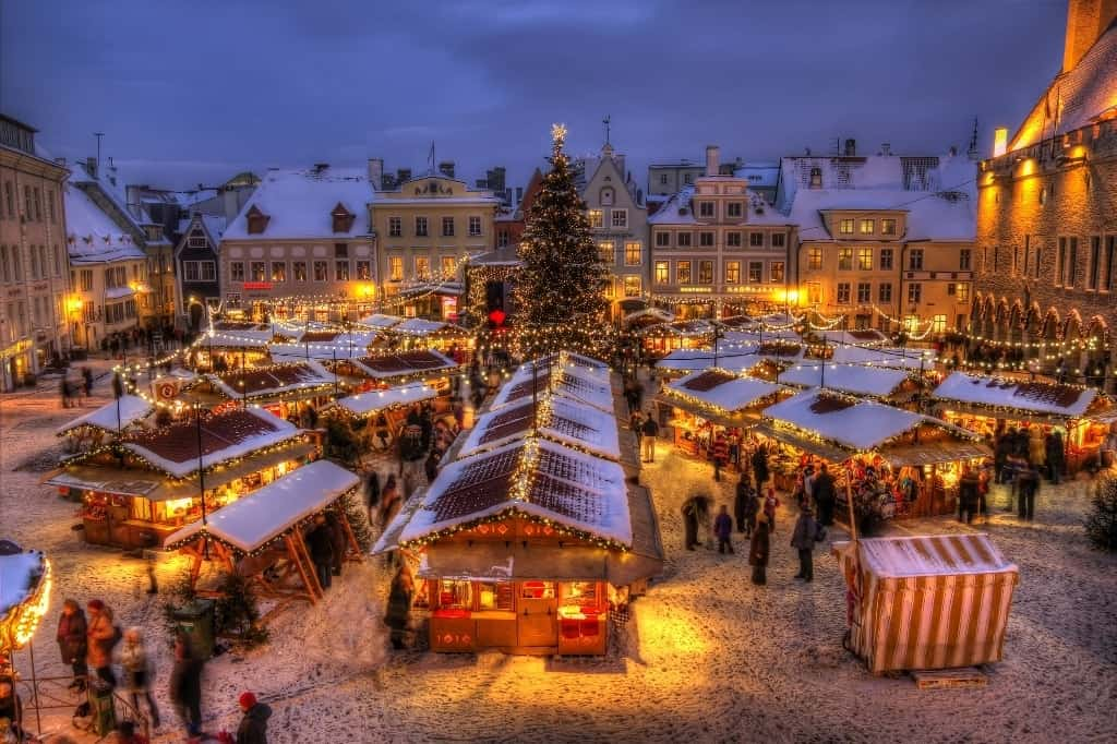 Best places to spend Christmas in Europe- Tallinn